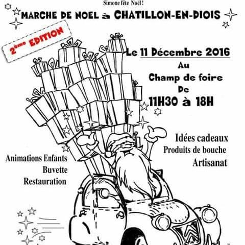 Marché chatillon en Diois